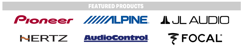 Speaker from Pioneer Electronics, Alpine, JL Audio, Focal, Hertz and Audio Control