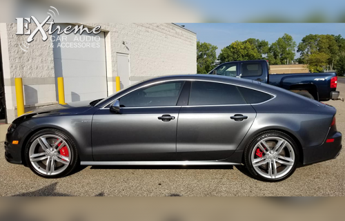 Audi S7 Complete Window Tint 35% Carbon