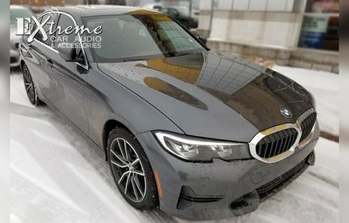 BMW 3 Series Complete Window Tint 15% Llumar Stratos