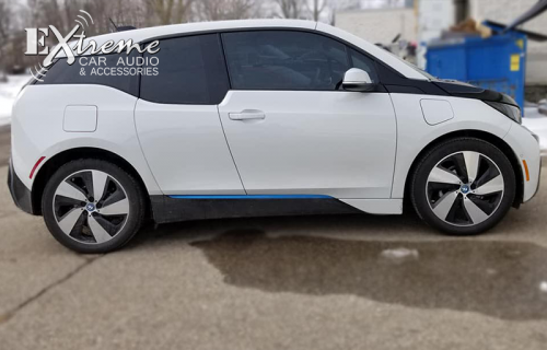 BMW I3 Complete Window Tint 18% Carbon