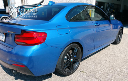 BMW M240i Complete Window Tint 70%