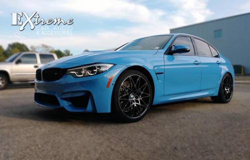 BMW M3 Complete Window Tint Carbon 18%