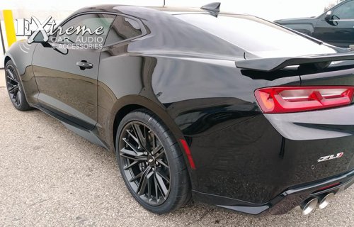 Chevy Camaro Front Two Window Tint 25% Pinnacle
