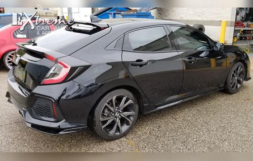 Honda Civic Complete Window Tint 20% SunTek High Performance