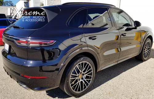 Porsche Cayanne Complete Window Tint 20% SunTek High Performance