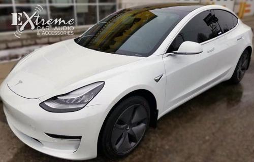 Tesla Model 3 Paint Protection Film Ultra