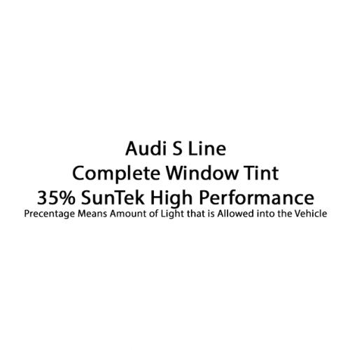 Audi S Line 35% Complete