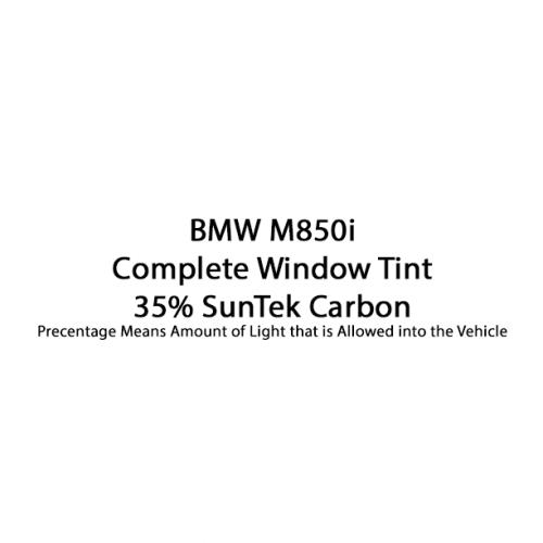 BMW M850i Complete Window Tint