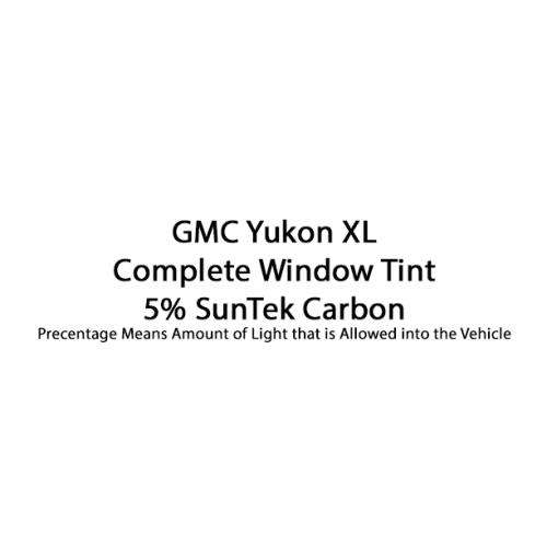 Yukon XL Complete Window Tint SunTek Carbon 5%