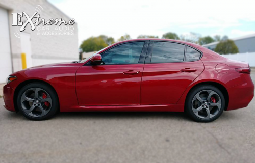 Alfa Romeo Giulia 55% Windshield 35% Carbon Complete Window Tint
