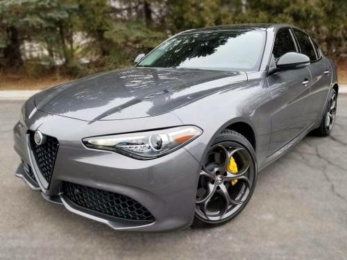 Alfa Romaro Giuila Front Two Window Tint