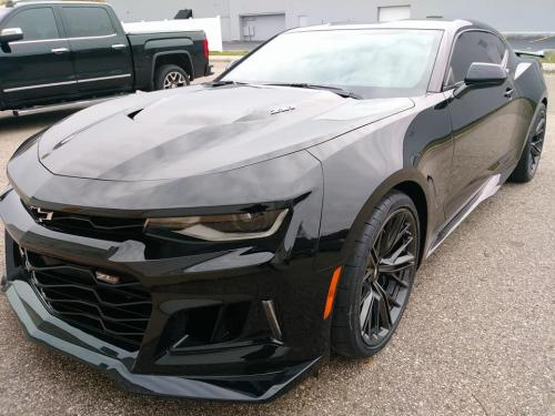 Chevy Camaro Front Two Window Tint-3