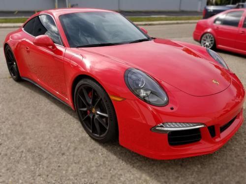 Porsche 911 3 GTS Complete Window Tint