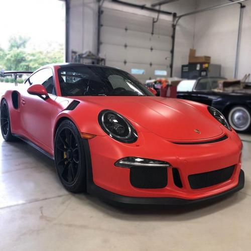 Porsche GT3RS Paint Protection Film Matte