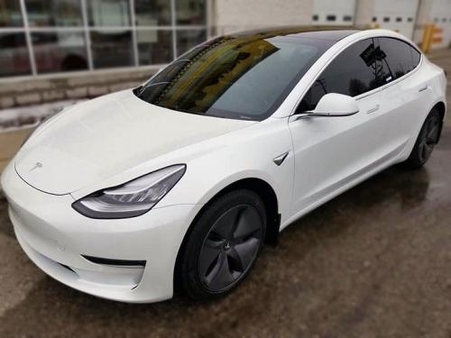 Tesla Model 3 Paint Protection Film Ultra