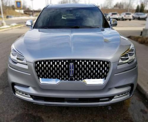 Lincoln Aviator Front