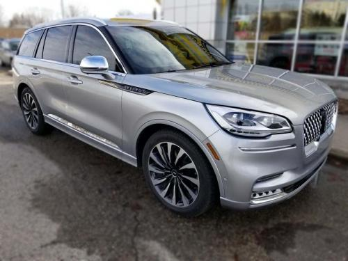 Lincoln Aviator Front Side