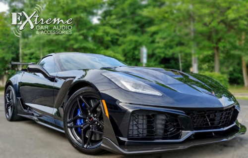 Corvette ZR Paint Protection Film Ultra